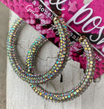 Glitzy Glam Hoops