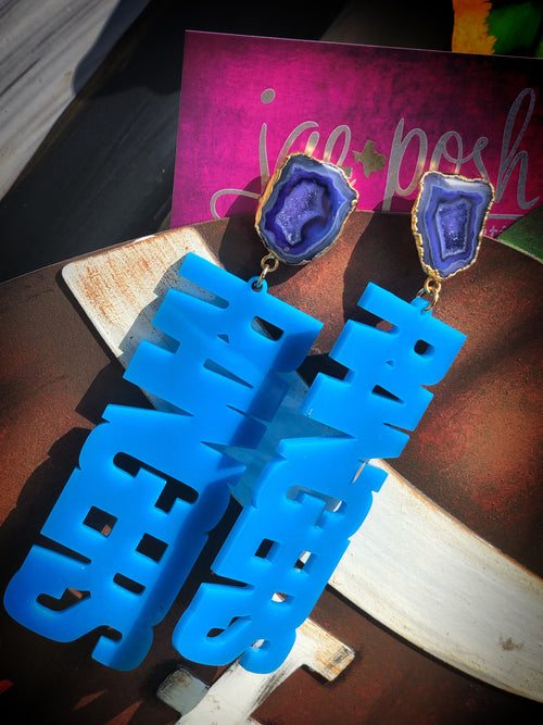 XL RANGER Geode Earrings