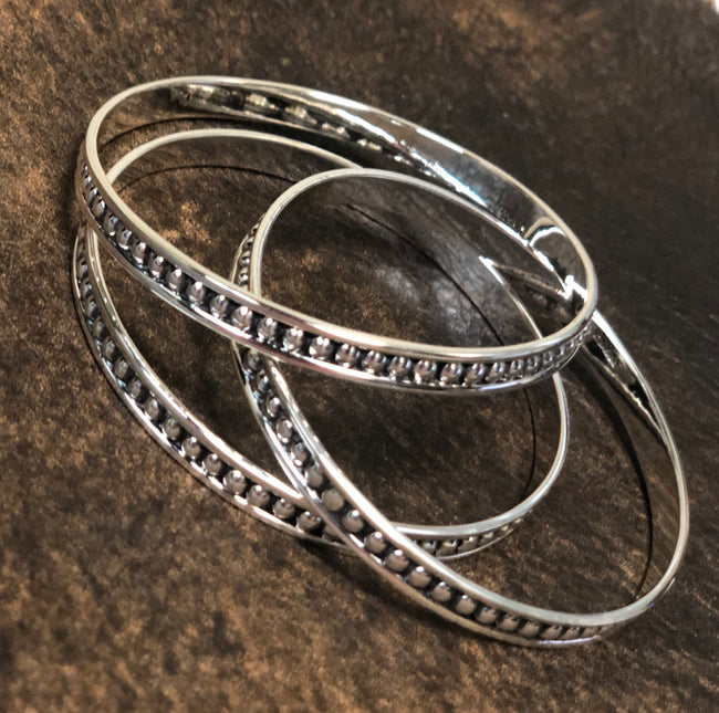 Silver Swank Bangle Mini