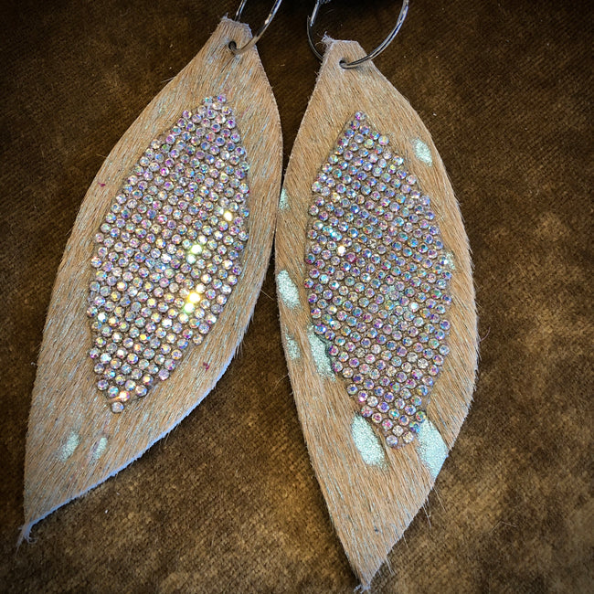 Blanco Bling Earrings