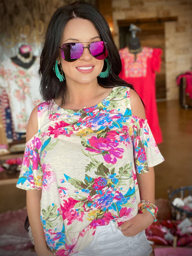 Bright Blooms Top