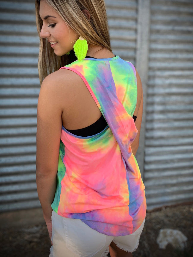 Living in Color Tank