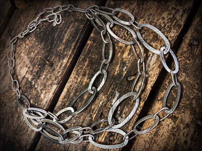 Chains of Silver Necklace MIDLAND - Southern Clothing Boutique