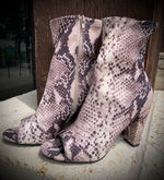 Prissy Python Booties