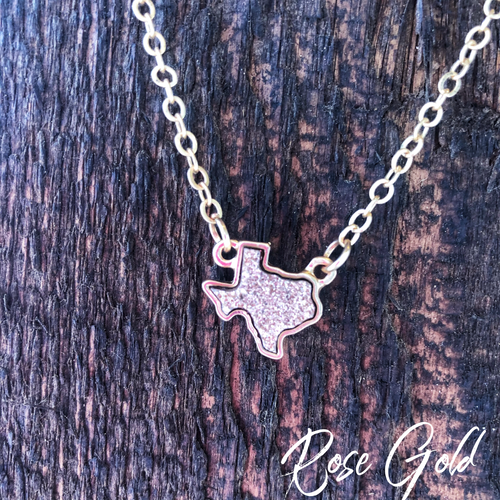 Texcellent Necklace- rose gold