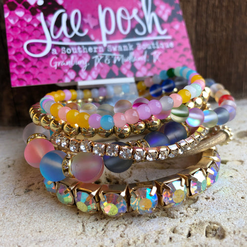 Mermaid Bracelet Set- multi