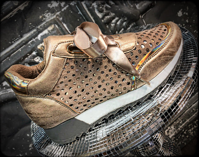 Rose Gold Sneakers MIDLAND