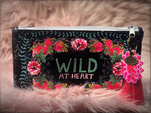 Wild at Heart Pouch