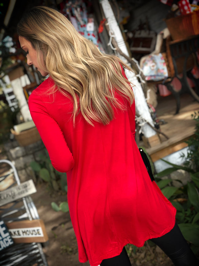 Swing on Over Tunic-red