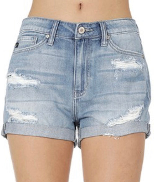 KanCan High Rise Shorts