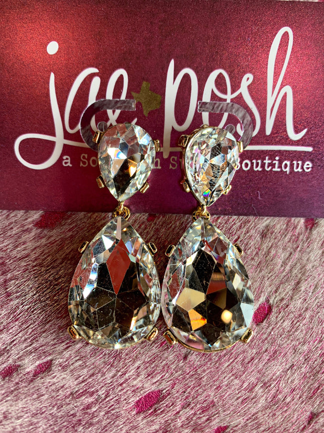 Crystal Cuties Earrings - Southern Clothing Boutique