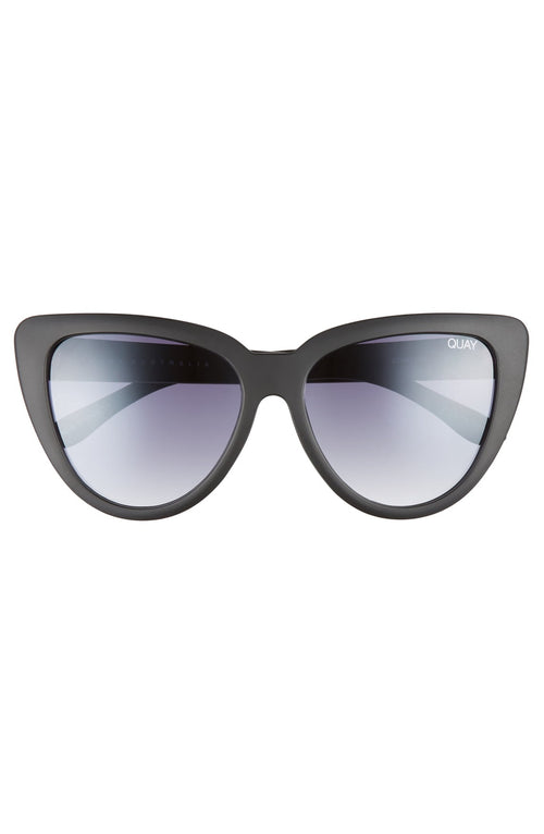 Quay Sunglasses - Stray Cat - BLK/SMK