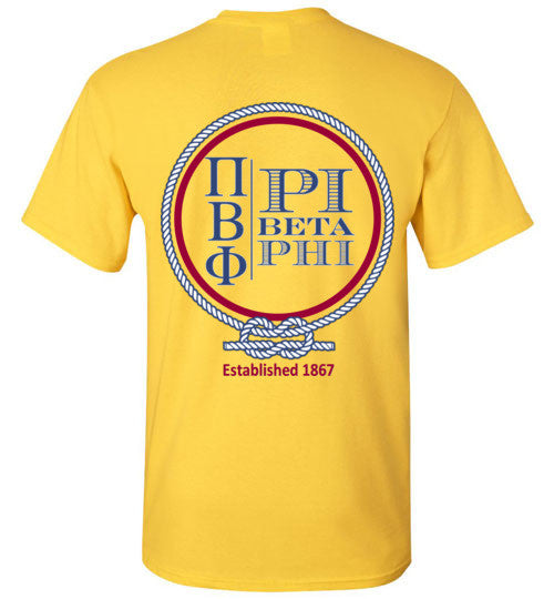 Nautical Pi Phi Tee