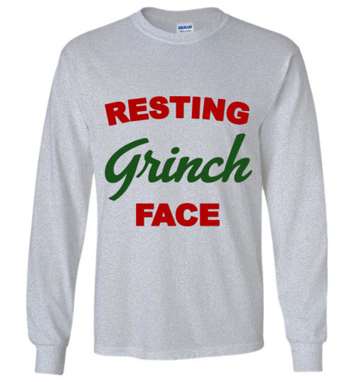 Resting GRINCH Face Long Sleeve