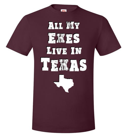 All my Exes Live In Texas (Guys)