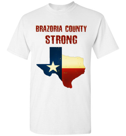 Brazoria County STRONG Red Letter