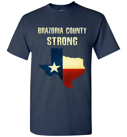 Brazoria County STRONG White Letters
