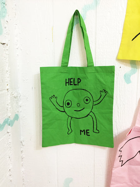 Help Me Tote Bag - Bad People