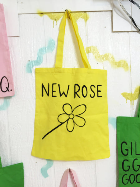 New Rose Tote Bag - Bad People
