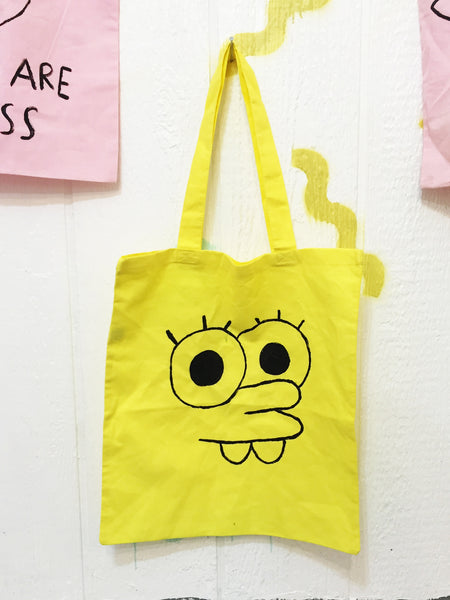 Sponge Bart Tote Bag - Bad People