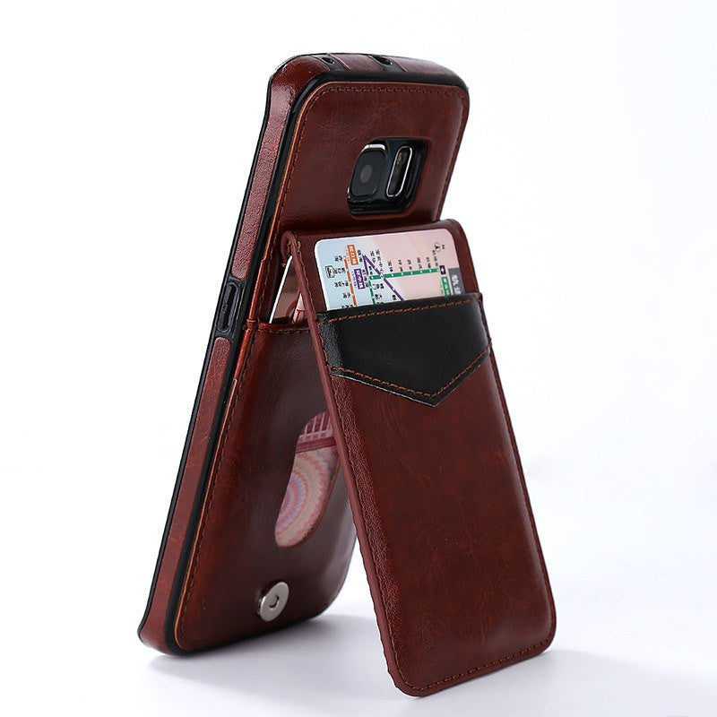 Wincia Luxury Leather Vintage Series Phone Cases For Samsung Galaxy.