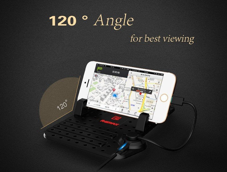 Remax Mobile Phone or GPS Holder for your car (iPhone & Samsung)
