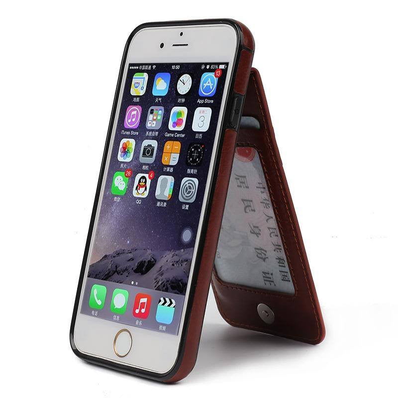 Wincia Luxury Leather Deluxe Series Phone Cases For iPhone.