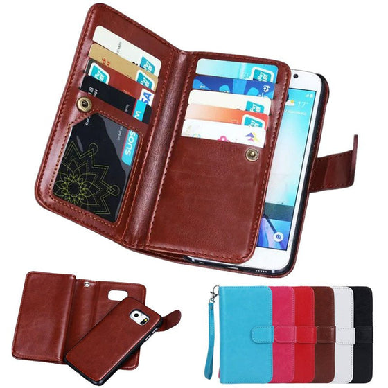 Wincia Flip Leather Magnetic Case  For Samsung Galaxy
