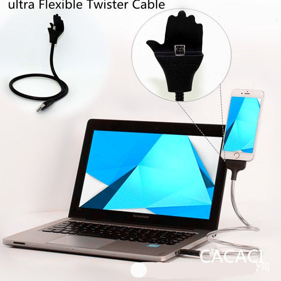 Ultra Flexible Twister Cable Dock (65% OFF )