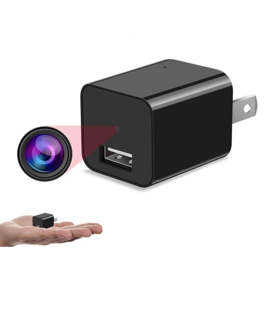 HD Mini WiFi Plug Camera With Memory