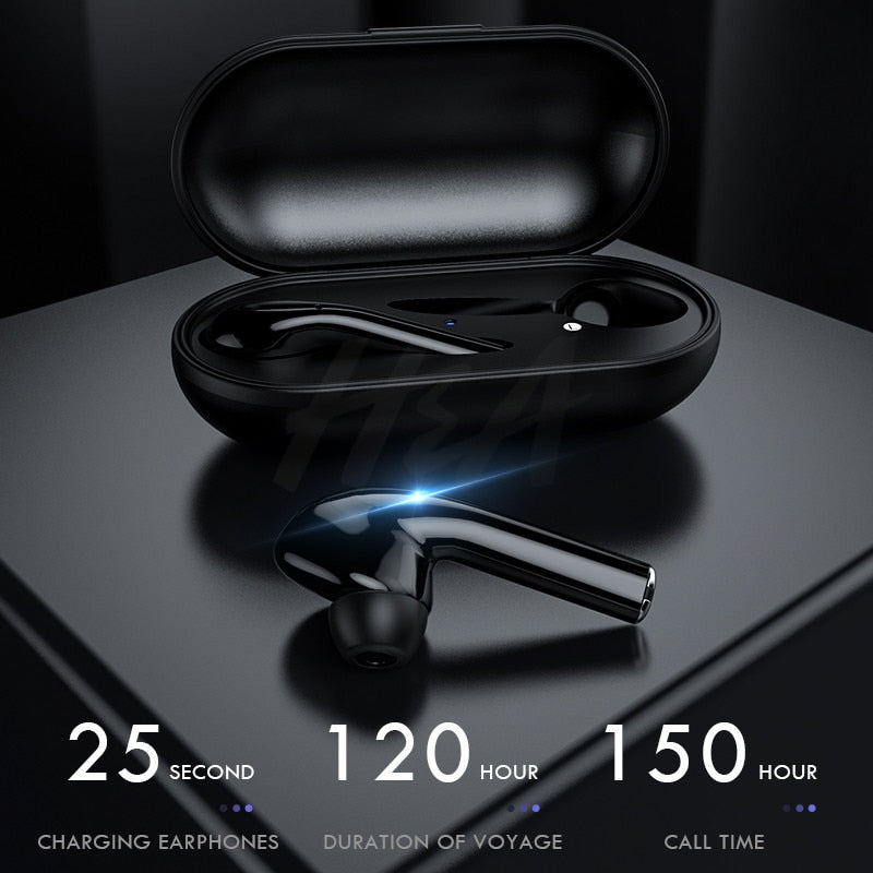 Bluetooth Wireless Earbuds HiFi Sport Earphones With Charging Box
