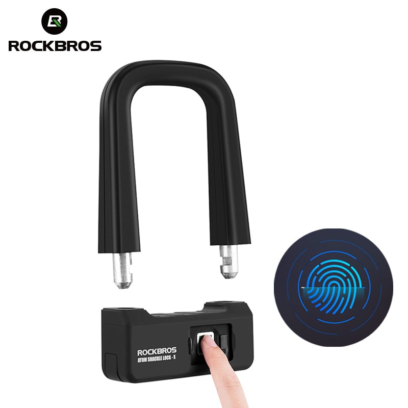 Anti-theft Bicycle Fingerprint Touch ID Bike Lock