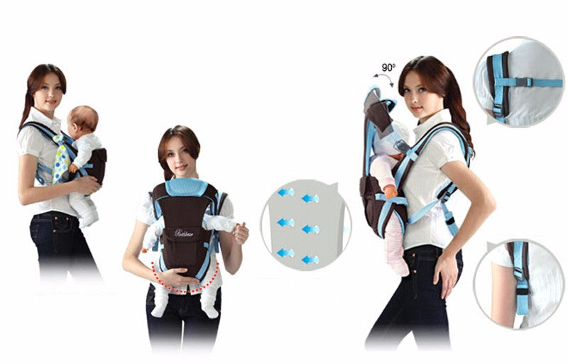Breathable All In One Baby Carrier