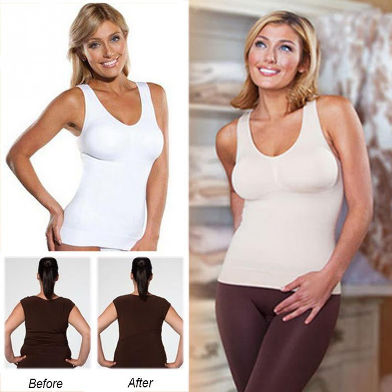 ***Best of 2017*** COMFORTABLE WIRELESS CAMI TANK TOP - Ghostdeal.com