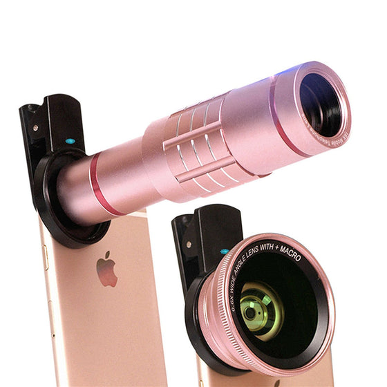 Premium 18X Zoom HD Telephoto Camera Lens