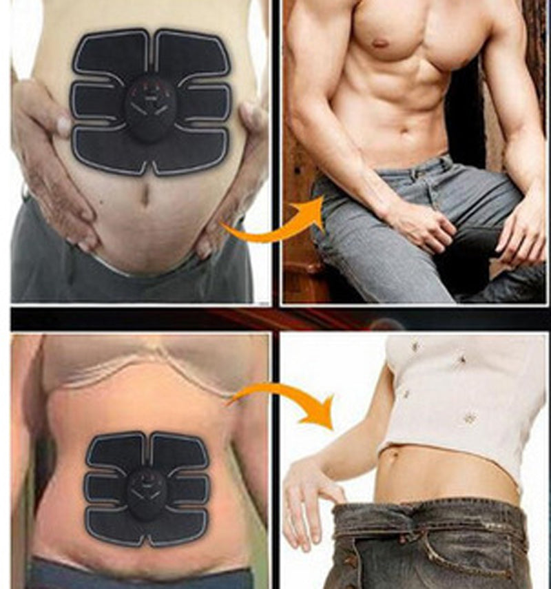 Abs Stimulator And Muscle Toner - Portable EMS  Abdominal Toning Belt And Body Toner