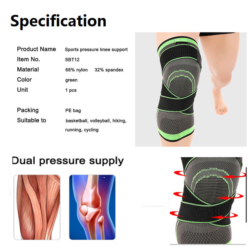 3D Knee and Ankle Support Brace