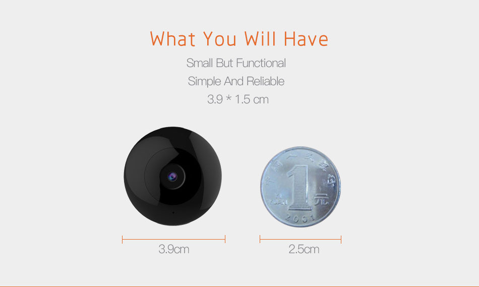8c1bf98d7e31 ... Mini WiFi Camera HD 1080P Wearable Video Security Home Camera ...