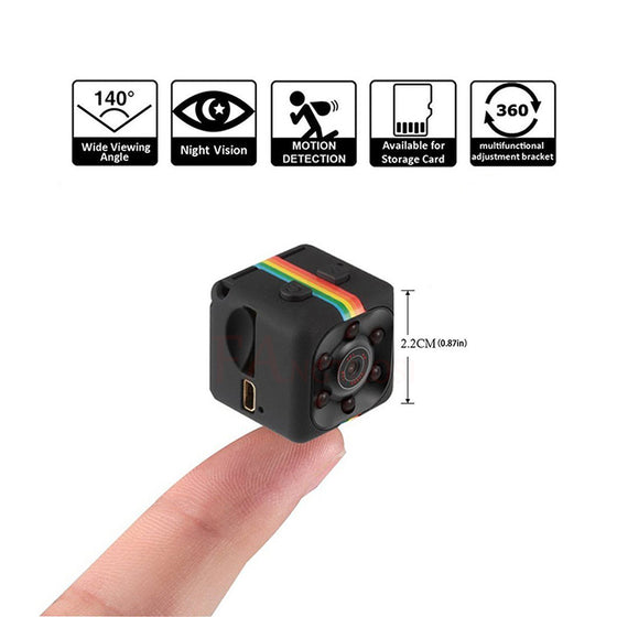 Mini HD video camera and dash cam