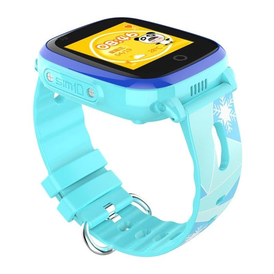 4G Kids Smart Watch GPS LBS Tracker SOS WIFI HD Camera Compatible IOS&Android