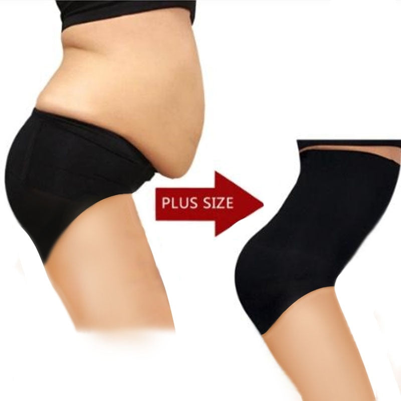High Waist Tummy Tuck Waist Shaping Panties  & Breathable Body Shaper Underwear
