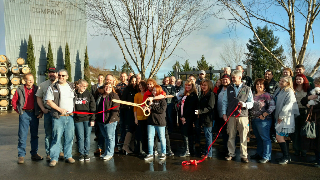 Ribbon Cutting Event with McMinnville Chamber of Commerce