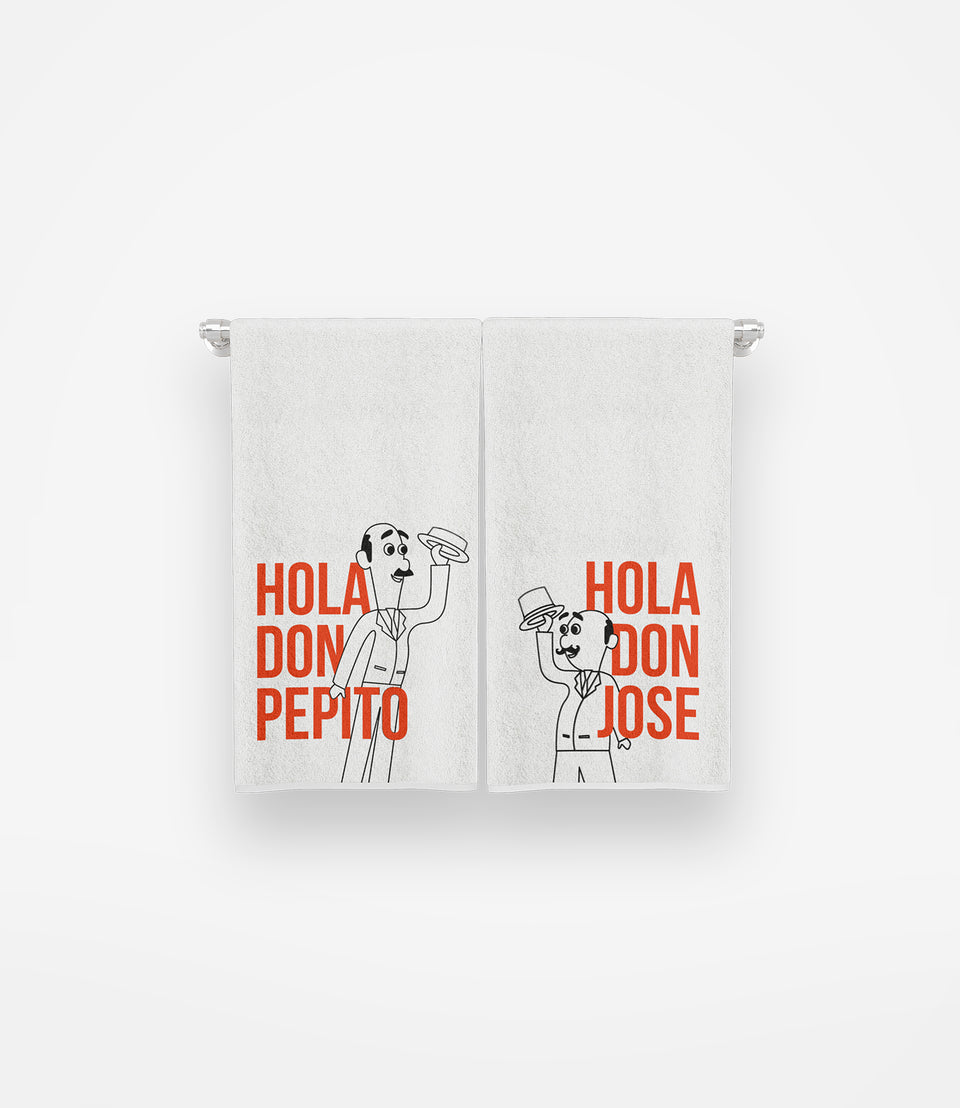 Hola Don Kitchen Towels