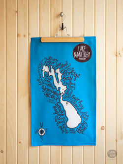 Lake Manitoba - Tea Towel