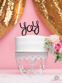 Yay - Cake Topper