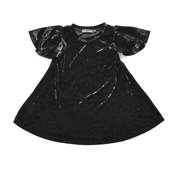Little Lords Black Party Dress