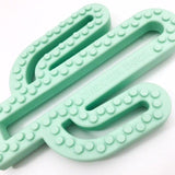 One.Chew.Three Cactus Pop Silicone Teethers