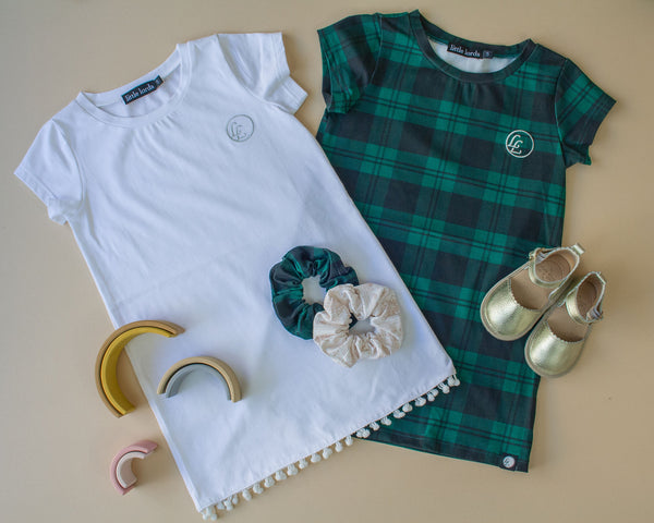 LITTLE LORDS - TARTAN T-SHIRT DRESS