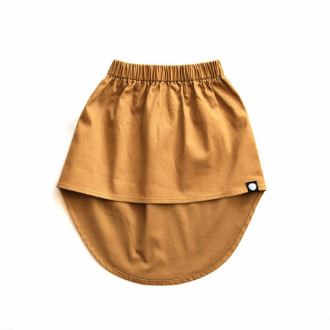 Little Lords Hi-Low Skirt - Mustard