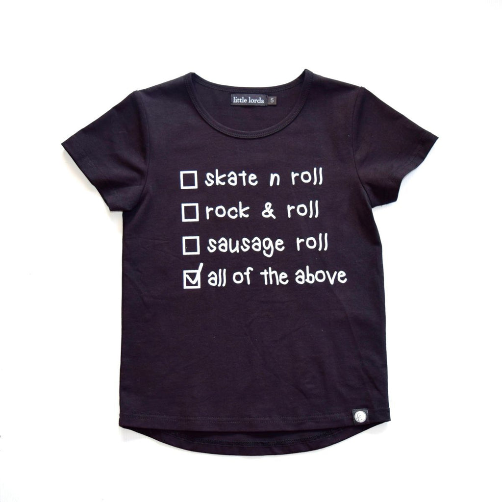Little Lords Sausage Roll Tee